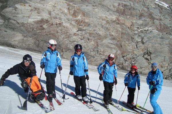 Actividad de Play and Train en Les 2 Alps