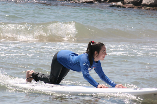 Actividad de Surf con Play And Train